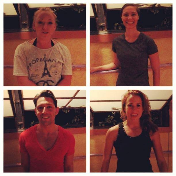 Stretch - Dancers